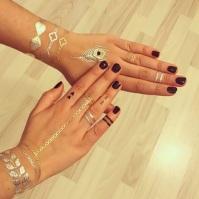 insta golden tattoo