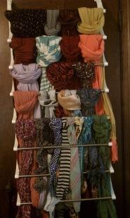 Organizando o guarda roupas