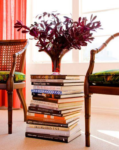 decoração com livros 2