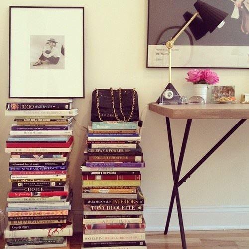 decoração com livros 6