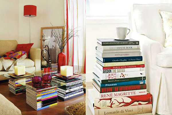 decoração com livros 7