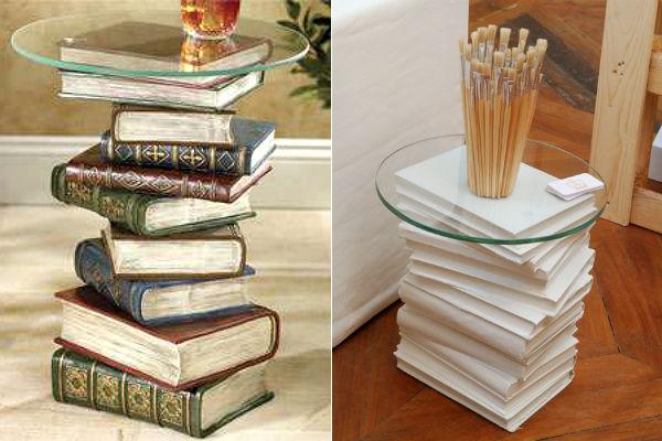 decoração com livros 9