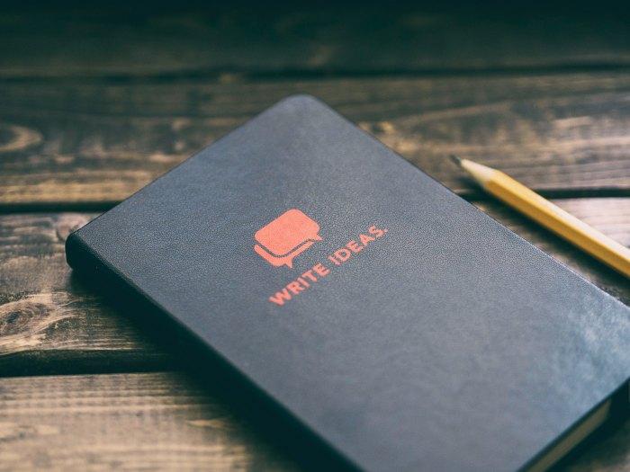 projetos, ideias, write ideas