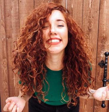 cabelo, ruivo, chaceado, transição capilar, padroes, beleza